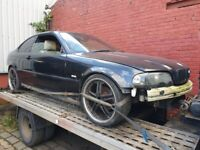 BMW E46 COUPE 328 BREAKING PARTS SPARES REPAIRS