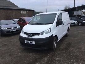 2012 NISSAN NV200 TWINSIDE loading doors full service history in like new condition 6 speed unmarked