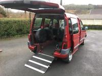 Citroen berlingo 1.6 wheel chair access, disabled vehicle