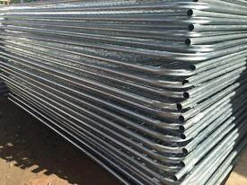 🔩 Round Top Temporary Heras Style Fence Panels ~ New 🔩