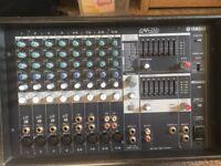 Yamaha amplifier mixer £85