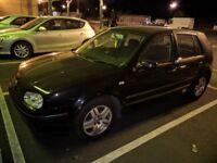 VW Volkswagen Golf Hatchback 2001 MK4 1.6 5 door Petrol Hatchback Black Manual 12 Months MOT FSH