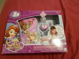 Sofia the first electronic secret diary