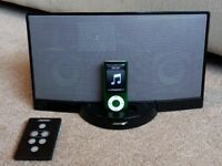 Bose SoundDock iPhone and ipod compatible sound system.