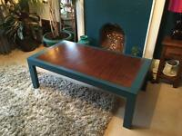 Large hand finished coffee table