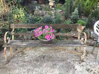 Traditional Design Garden Bench