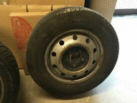 Renault master mark 11 wheel and tyre