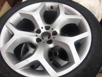 Genuine x5 x6 bmw alloy wheels
