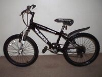 "Kids Concept Terminator (11"" frame) Hardtail Mountain Bike (suit 6 to 9 yr old)"
