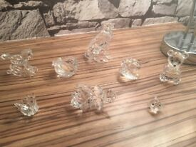 SWAROVSKI Crystal Figurines (Teddy Bear/Fish/Oyster/Rose/Swan/Heart/Horse/Cheetah)