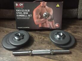 10kg Dumbell £20 brand new with box