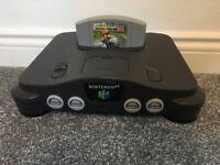 Nintendo 64 (N64) Console & Mario Kart 64