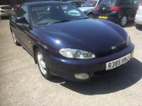 98 hyundai coupe se automatic only 86 k mls leather cruise ac new tyres long mot trouble free car