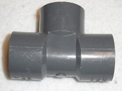 Lasco Sch 80 Pvc T Fittings 1 Threaded 15 Piece Lot D2464d2467