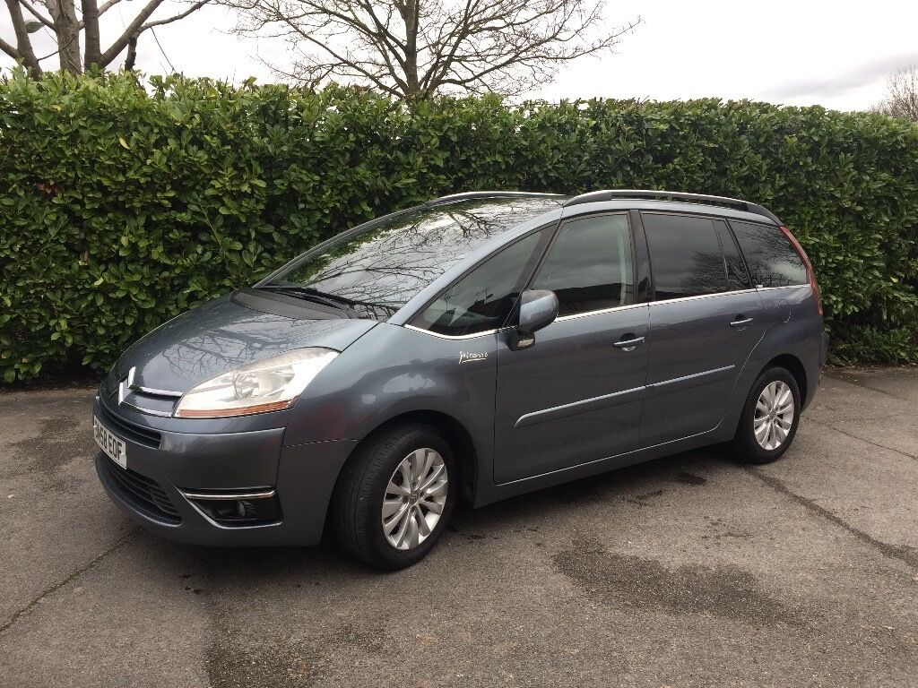 7 seater grey citroen c4 grand picasso in bletchley buckinghamshire gumtree. Black Bedroom Furniture Sets. Home Design Ideas