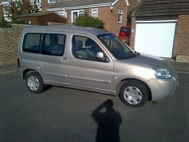 2003 1.9 diesel Citroen Berlingo manual, well below average mileage