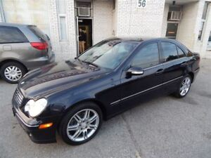2007 Mercedes-Benz C-Class C280 4 MATIC  LEATHER SUNROOF AWD