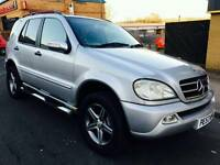 Mercedes Benz ML 2.7 Diesel Auto Sat Nav Leather Pack Swap Px welcome