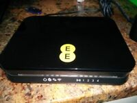 EE brightbox router, with power supply, filter and cable. Good condition