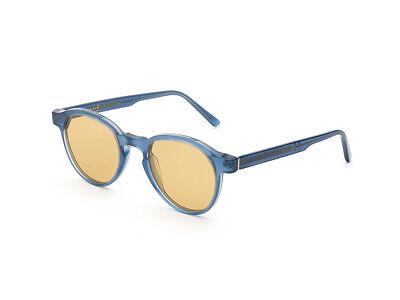 Sonnenbrille Retrosuperfuture super Andy Warhol blau klar gelb 2J0