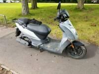 Kymco 50cc moped 2012 61 plate full mot