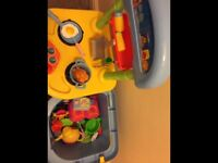 Kids Play Toy Kitchen