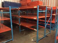 Warehouse Racking, Multiple Bays, Manchester