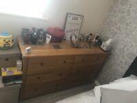 Quality solid oak bedroom furniture