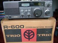 Trio r600 cmmunications reciever
