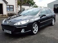 2007 peugeot 407 estate GT only 89000 miles, top spec motd june 2017 all cards welcome