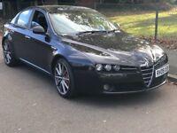 Alfa Romeo 159 1.9 JTDM Limited Edition 4dr
