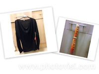 Womens 10 Asos top with orange belt **BRAND NEW WITH LABELS**