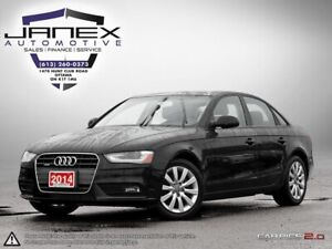 2014 Audi A4 2.0 Komfort RARE 6SPD MAN | ACCIDENT FREE | BLAC...