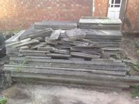 Open to offers dismantled 20 foot garage. Can make smaller one due to some pieces broken