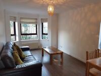Modern 2 bed flat to rent next to Falkirk High station
