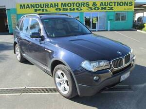 2008 BMW X3 Wagon Silver Sands Mandurah Area Preview