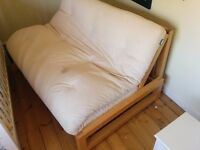 A great futon sofa bed from the Futon Company. (Two seat Trifold futon)