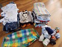 A big bundle of baby clothes 0-3months