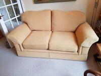 Cream M&S sofa, 2 seater