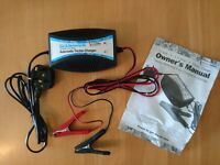 Car & Motorcycle Battery Trickle Charger - As new never used!