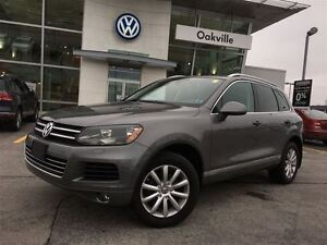 2013 Volkswagen Touareg CL/SUNROOF/HITCH/NAV/1 OWNER!