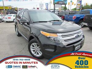 2013 Ford Explorer XLT   AWD   7 PASS   LEATHER   BACKUP CAM