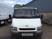 ford transit swb low roof.2006.ply lined.new mot today.NO VAT