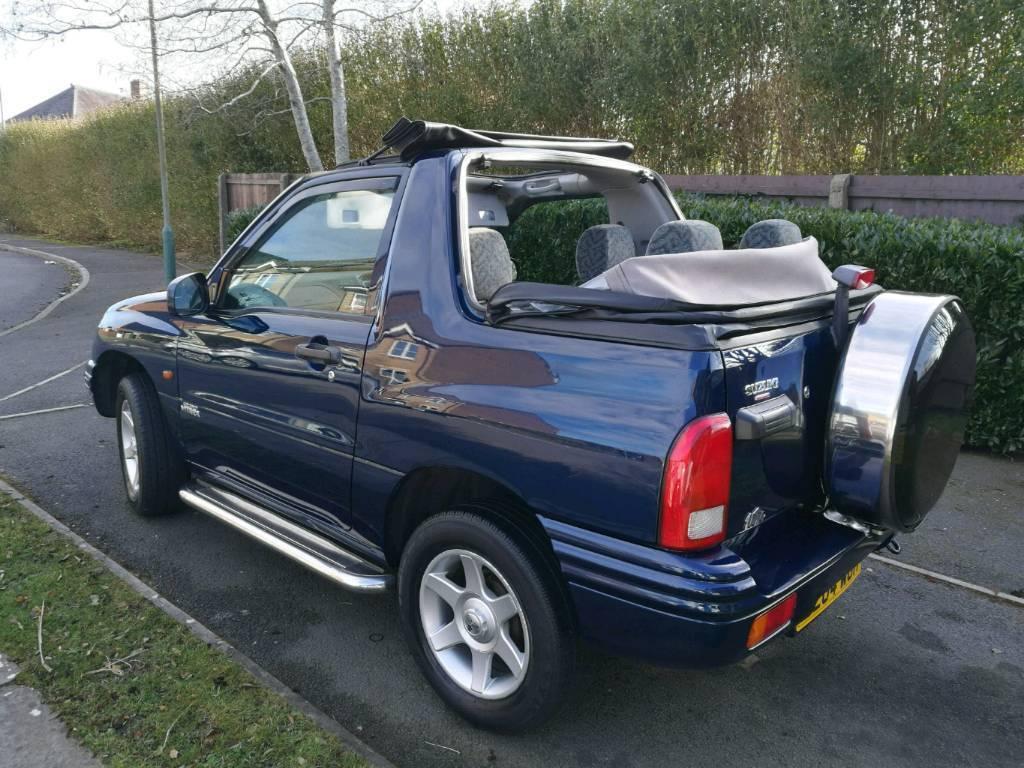 2004 04 Suzuki Grand Vitara 1600 Sport 4x4 Convertible