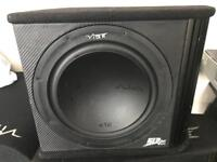 12 inch vibe slr subwoofer with built in amp