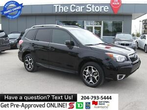 2014 Subaru Forester 2.0XT Limited HTD LEATHER backcam SUNROOF b