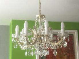 SOLD......SOLD.......Chandelier - 8 Arms