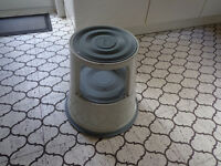 Foot Stool with caster wheels