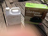 Parasene cold frame heater and paraffin (Unused)