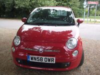 For Sale. Our cheeky little red Fiat. very reliable cheap to run. viewing recommended
